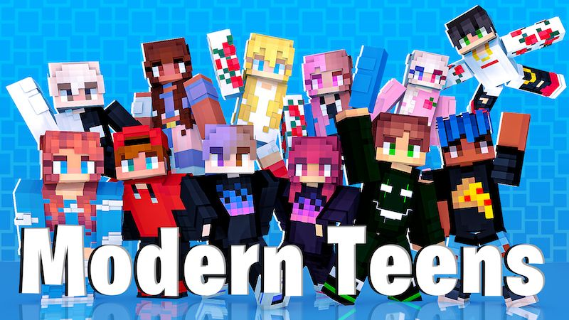 Modern Teens on the Minecraft Marketplace by DogHouse