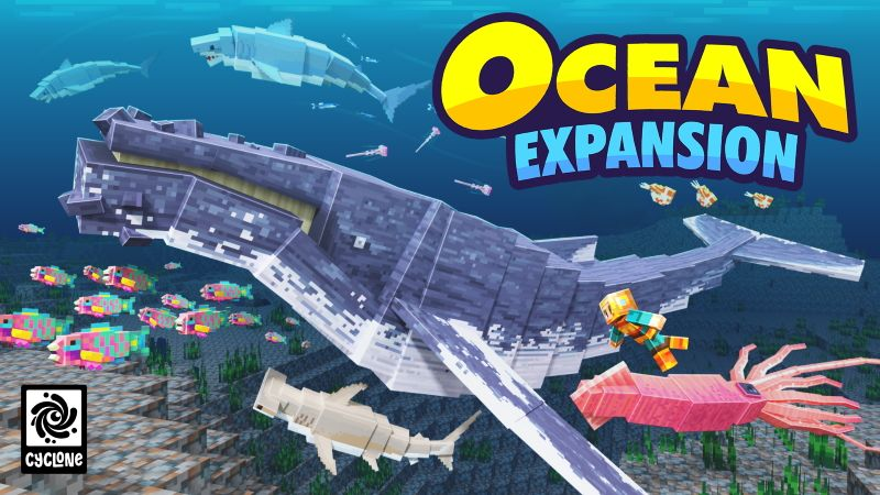 Ocean Expansion on the Minecraft Marketplace by Cyclone