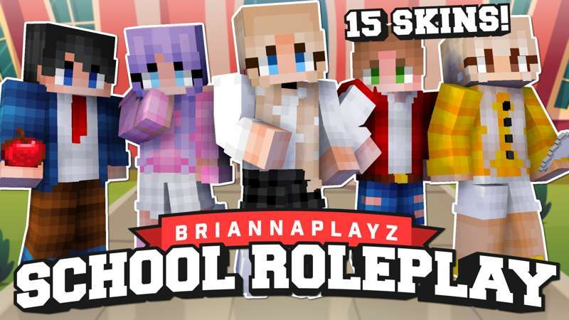 BriannaPlayz School Roleplay on the Minecraft Marketplace by Meatball Inc