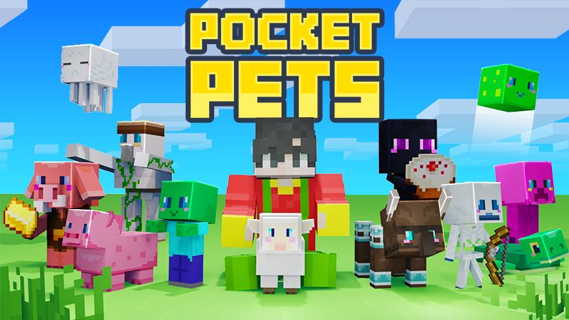 Pocket Pets on the Minecraft Marketplace by Mine-North