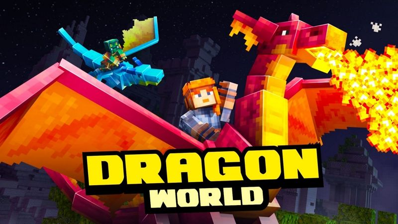 Dragon World on the Minecraft Marketplace by Team Vaeron
