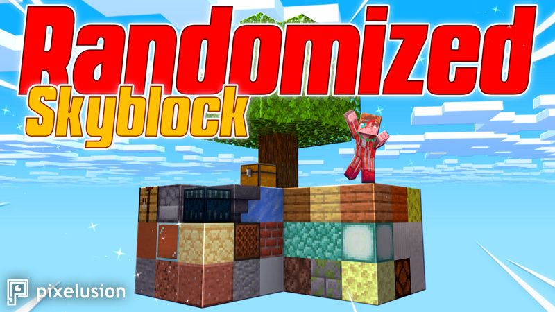 Randomized Skyblock on the Minecraft Marketplace by Pixelusion