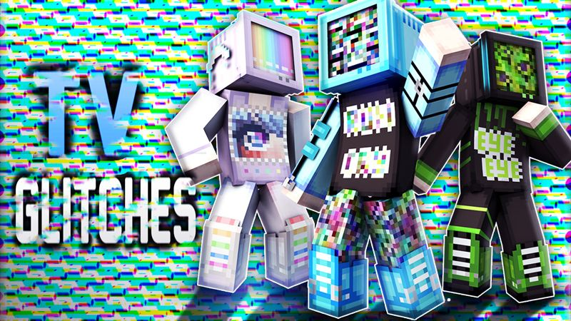 TV Glitches on the Minecraft Marketplace by Blu Shutter Bug