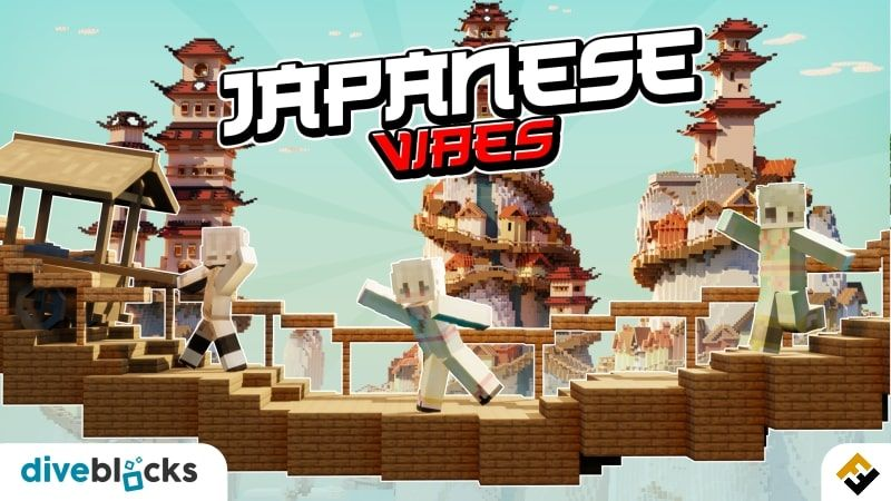 Japanese Vibes on the Minecraft Marketplace by Diveblocks
