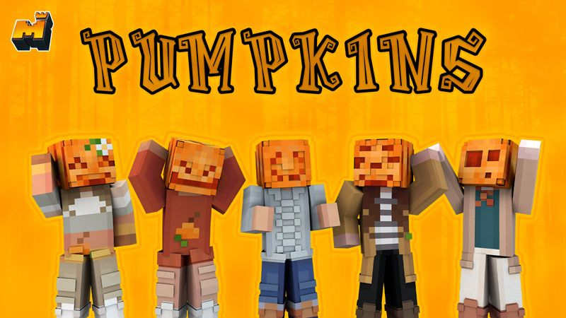 Pumpkins on the Minecraft Marketplace by Mineplex