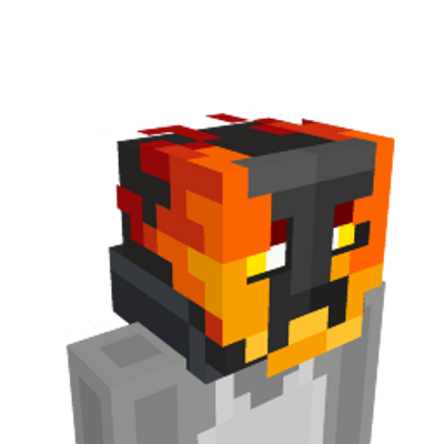 Flame Skull on the Minecraft Marketplace by Pixelbiester