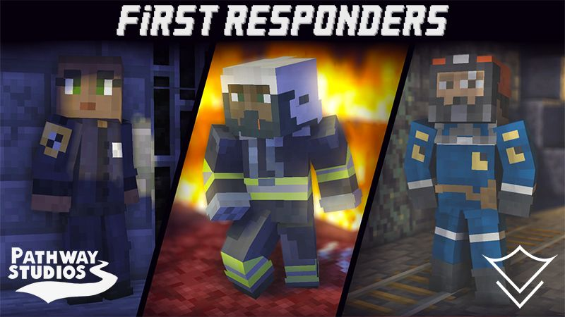 First Responders on the Minecraft Marketplace by Pathway Studios