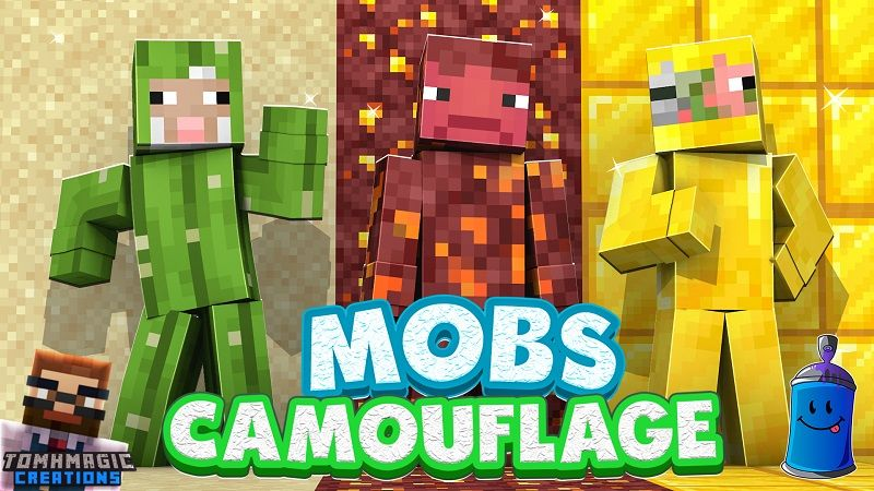 Mobs Camouflage on the Minecraft Marketplace by Tomhmagic Creations