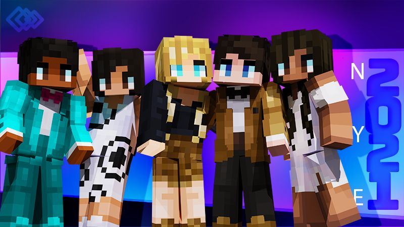 New Years 2021 on the Minecraft Marketplace by Tetrascape