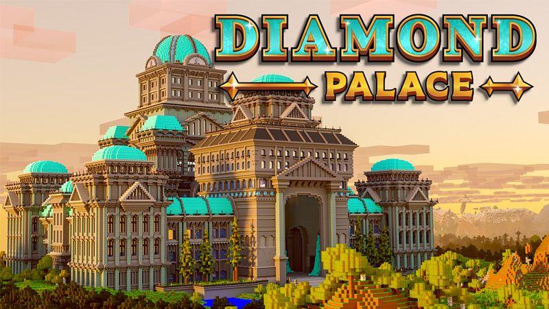 Diamond Palace on the Minecraft Marketplace by Odyssey Builds