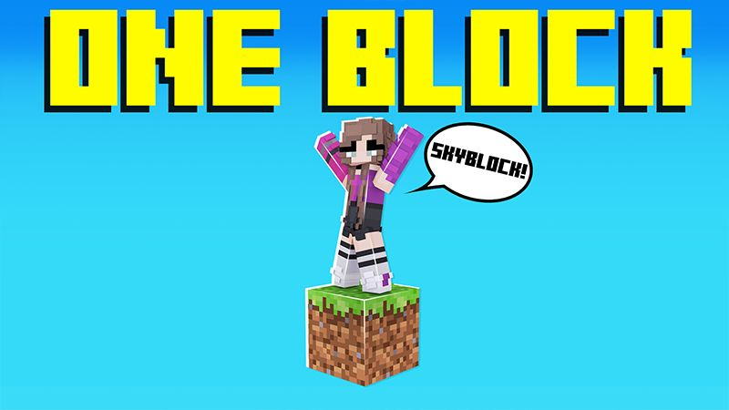 ONE BLOCK SKYBLOCK on the Minecraft Marketplace by Pickaxe Studios