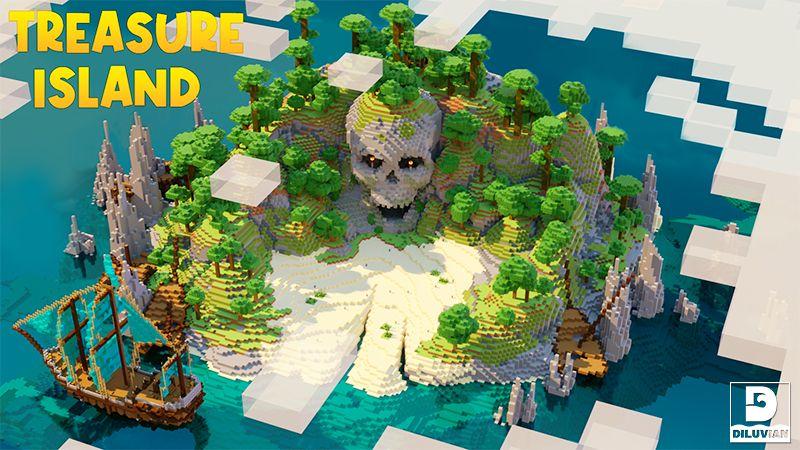 Treasure Island on the Minecraft Marketplace by Gearblocks
