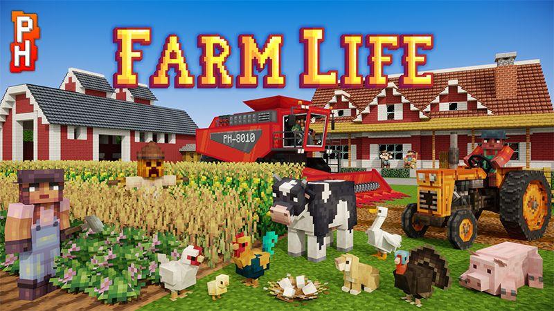Farm Life on the Minecraft Marketplace by PixelHeads