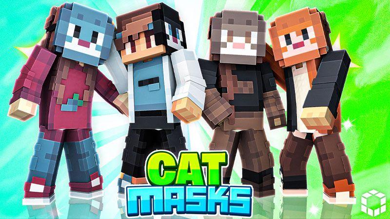 Cat Masks on the Minecraft Marketplace by UnderBlocks Studios