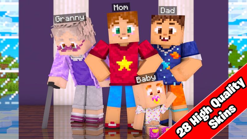FAMILY SKIN PACK on the Minecraft Marketplace by Doctor Benx