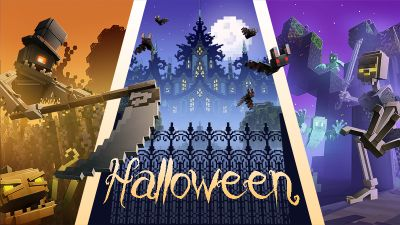 Haunted Mansion Battle on the Minecraft Marketplace by Mythicus