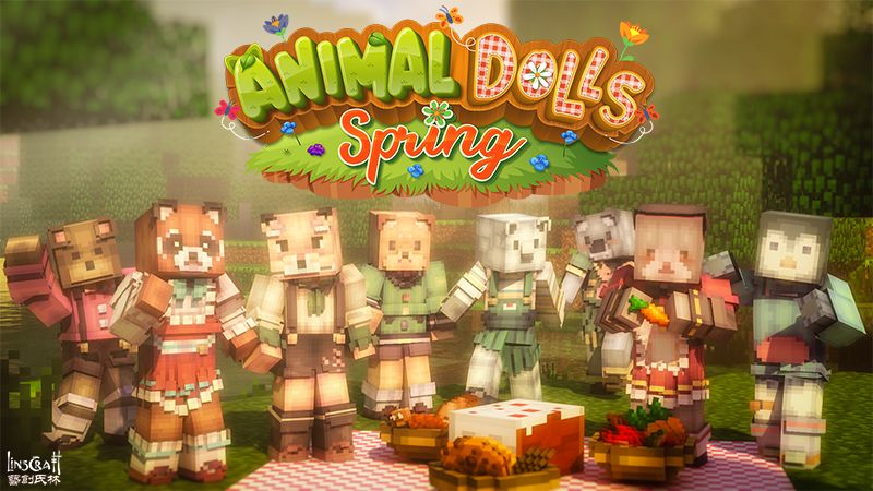Animal Dolls Spring HD on the Minecraft Marketplace by LinsCraft