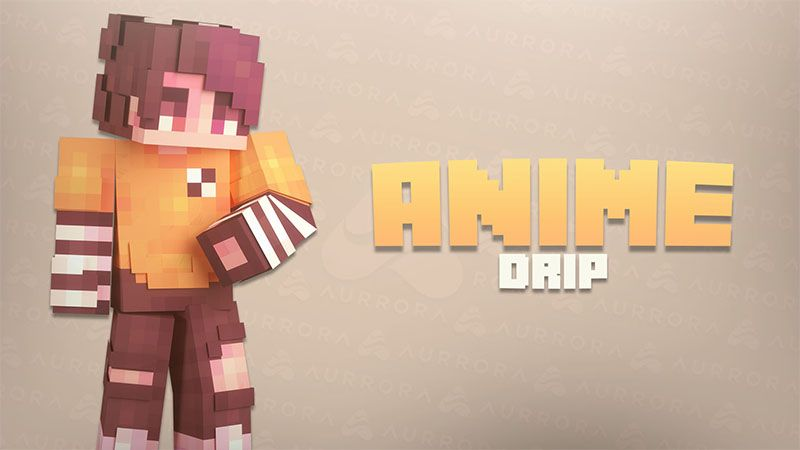 Anime Drip on the Minecraft Marketplace by Aurrora Skins