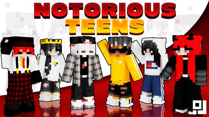 Notorious Teens on the Minecraft Marketplace by inPixel