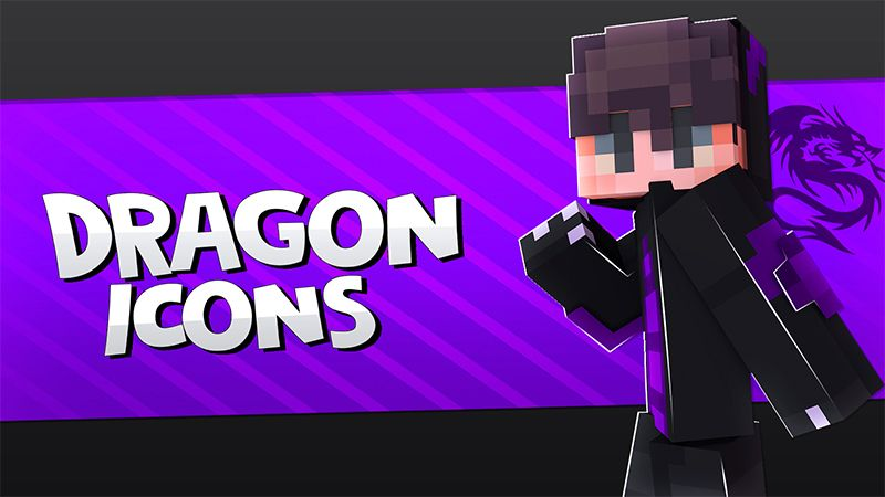 DRAGON ICONS on the Minecraft Marketplace by Pickaxe Studios