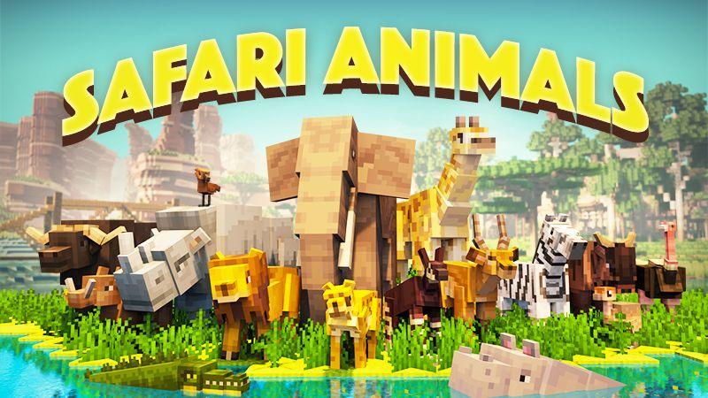 Safari Animals on the Minecraft Marketplace by Team Vaeron