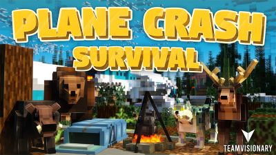 Plane Crash Survival on the Minecraft Marketplace by Team Visionary