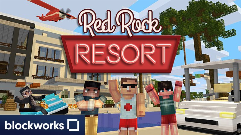 Red Rock Resort on the Minecraft Marketplace by Blockworks