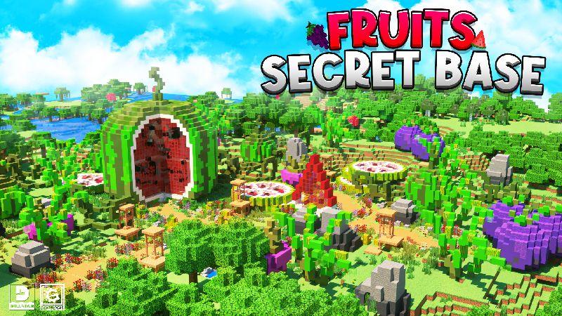 Fruits Secret Base on the Minecraft Marketplace by Gearblocks