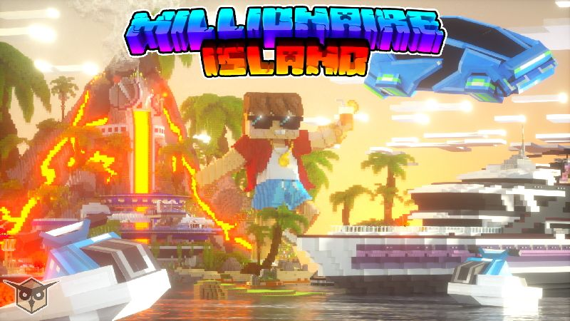 Millionaire Island on the Minecraft Marketplace by Owls Cubed