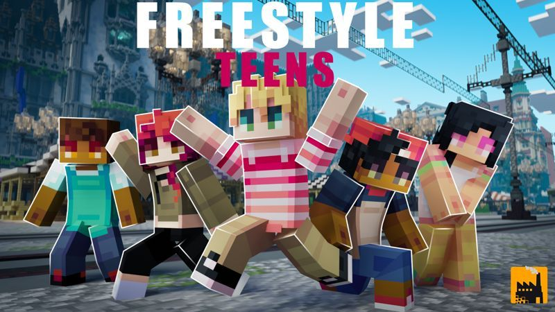 Free Style Teens on the Minecraft Marketplace by Block Factory