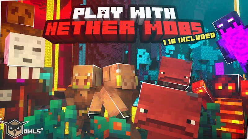 Nether Mobs on the Minecraft Marketplace by Owls Cubed