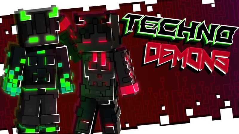 Techno Demons on the Minecraft Marketplace by Ninja Squirrel Gaming