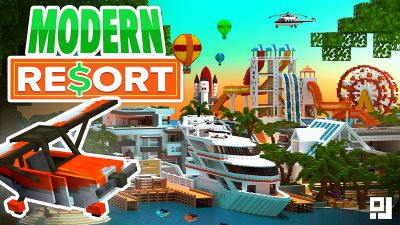 Modern Resort on the Minecraft Marketplace by inPixel