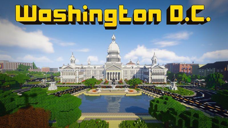 Washington DC on the Minecraft Marketplace by Lifeboat