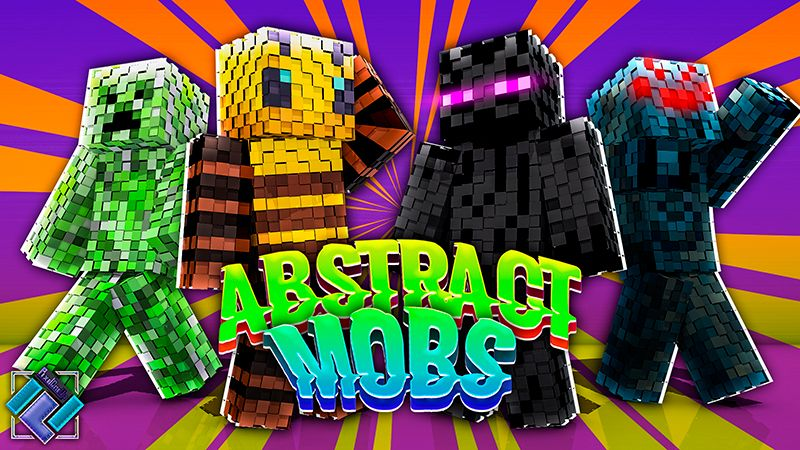 Abstract Mobs on the Minecraft Marketplace by PixelOneUp
