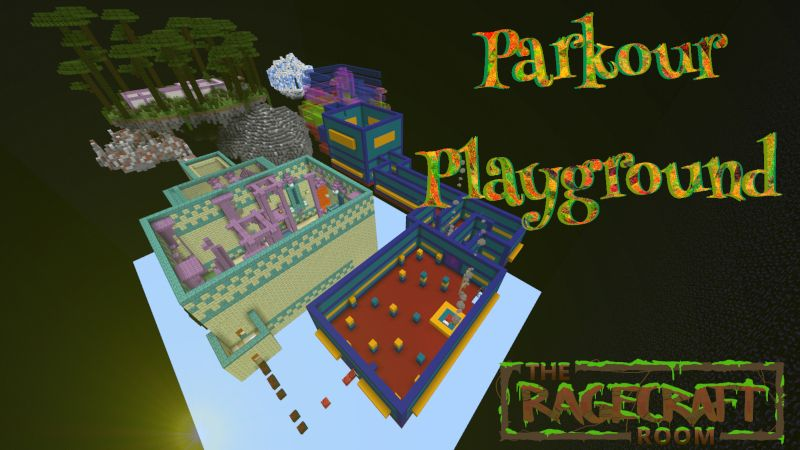 Parkour Playground on the Minecraft Marketplace by The Rage Craft Room
