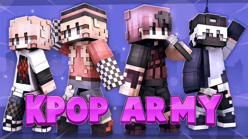 KPOP ARMY on the Minecraft Marketplace by Cypress Games