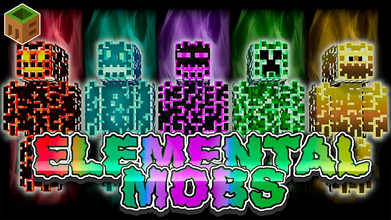 Elemental Mobs on the Minecraft Marketplace by MobBlocks