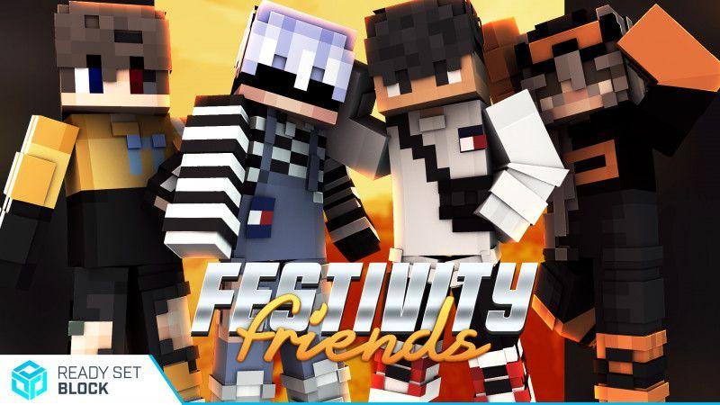 Festivity Friends on the Minecraft Marketplace by Ready, Set, Block!