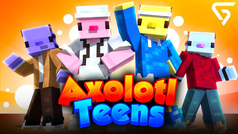 Axolotl Teens on the Minecraft Marketplace by Glorious Studios