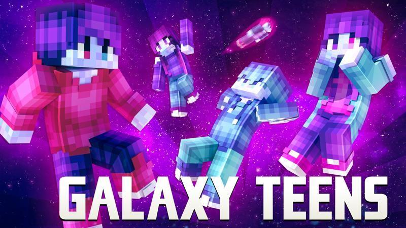 Galaxy Teens on the Minecraft Marketplace by 4KS Studios