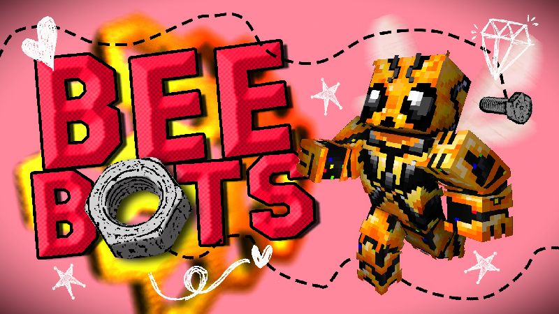 Bee Bots on the Minecraft Marketplace by Wandering Wizards