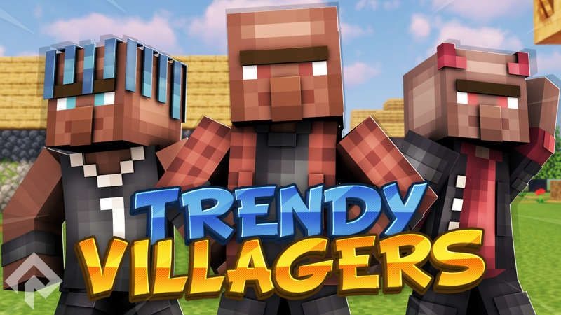 Trendy Villagers on the Minecraft Marketplace by RareLoot