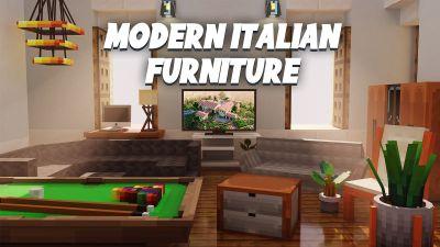 Modern Italian Furniture on the Minecraft Marketplace by BLOCKLAB Studios