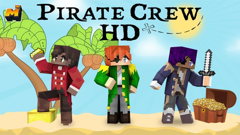 Pirate Crew HD on the Minecraft Marketplace by Mineplex