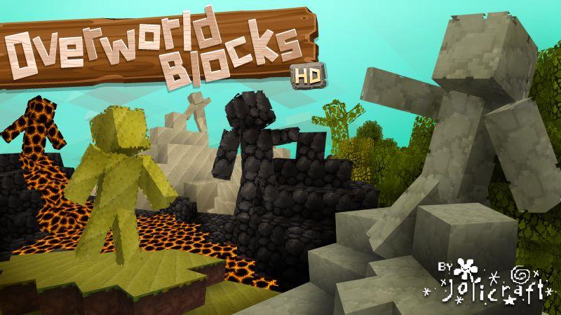 Jolicraft Overworld Blocks HD on the Minecraft Marketplace by Jolicraft