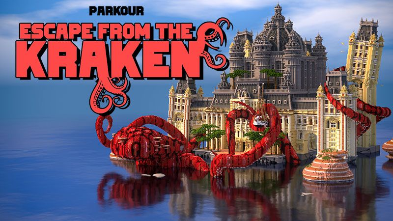 Escape from the Kraken on the Minecraft Marketplace by IriumBT