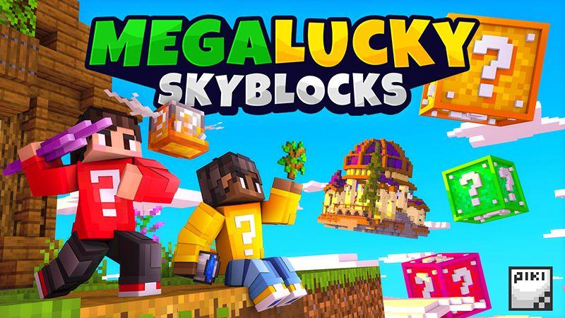 Mega Lucky Skyblocks on the Minecraft Marketplace by Piki Studios
