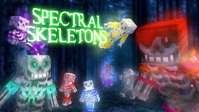 Spectral Skeletons on the Minecraft Marketplace by HearttCore Creations