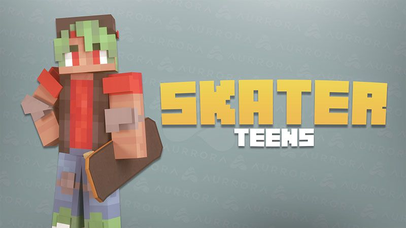 Skater Teens on the Minecraft Marketplace by Aurrora Skins